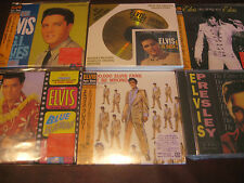 ELVIS PRESLEY ELVIS Is Back DCC 24K GOLD LOW #D 12 & 4 OBI JAPAN 6 CD Rare Set