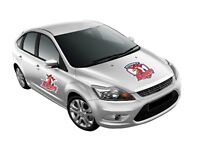 NRL Monster Decal - Sydney Roosters - Car Sticker 470mm
