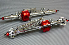AXIAL WRAITH Scorpion Poison  All Metal AXLES Front + Rear  RC Rock Racer AXLES