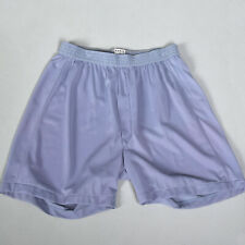 Small 1950s Purple Mens Boxer Shorts Lightweight Silky Feel VTG 50s Underwear