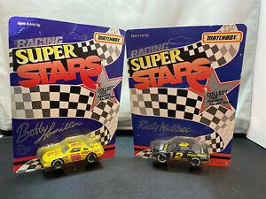Matchbox NASCAR Racing Super Stars 1/64 Diecast Lot Rusty Wallace Bobby Hamilton