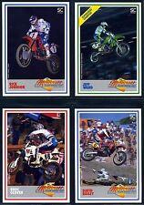 1988 SC Racing Motocross Set - 60 Cards - Rick Johnson, Bob Hannah, Jeff Ward