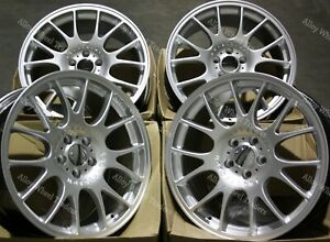 "Alloy Wheels 18"" CH For BMW 1 + 3 Series E36 E46 E90 E91 E92 Z3 Z4 Silver"