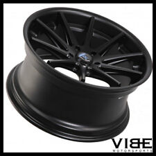 "19"" ROHANA RC10 BLACK CONCAVE WHEELS RIMS FITS INFINITI G35 COUPE"