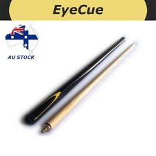 EyeCue Black Potter 2-Piece Cue Pool Snooker Billiard