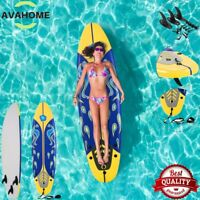 Surfboard Longboard Board Surfing Water Sport Adults Durable Foam Removable Fins