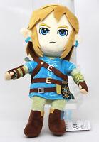"GENUINE The Legend of Zelda Breath of the Wild Link Plush 11"" Little Buddy 1638"