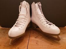 New listing Glacier 170 Figure Ice Skates White Womens sz 10