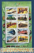France Bloc N°38 Série Collection Jeunesse Les Légendes du Rail 2001 Neuf Luxe