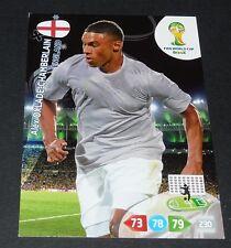 OXLADE-CHAMBERLAIN ENGLAND FOOTBALL CARD PANINI FIFA WORLD CUP BRASIL 2014