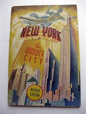1939 Views of New York City Photo Book by Curt Teich 100s of Pics!