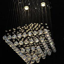 Fashion Luxury Drop Crystal Ball Chandelier Ceiling light Living Room Bedroom