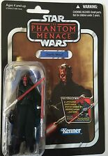 """Star Wars Action Figure of DARTH MAUL (VC 86 ) Vintage Card 3.75"""""""
