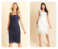 PD741 BRAVISSIMO CLOTHING KATY GRID LACE DRESS RRP £85.00 (55)