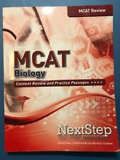 Mcat Review Biology Content Review and Practice Passwages NextStep Test Prep