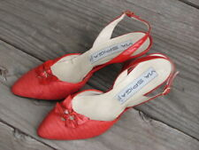 Via Spiga Women's Leather Shoes Made in Italy Vintage Rare Size 6 B Two Bowties