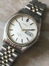 Seiko Vintage 5606 25j Day Steel Japan Very Rare Collectibles Date just Perfect