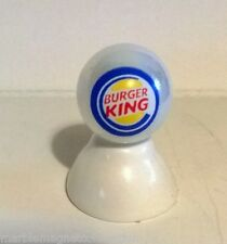 Burger King Logo On White Pearl Marble