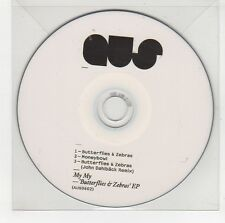 (GG781) My My, Butterflies & Zebras EP - DJ CD