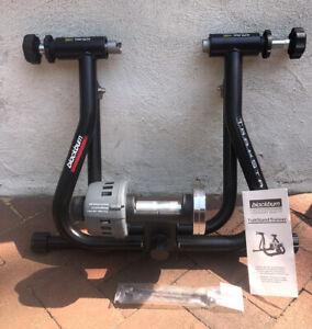 Blackburn Trakstand Folding 3-Level Adjustable Magnetic Resistance Bike Trainer