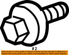 FORD OEM Engine Parts-Crankshaft Crank Pulley Bolt 1S7Z6A340AA