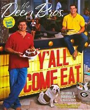 The Deen Bros Cookbook Y'all Come Eat Hardcover Book First Edition Free Shipping