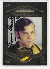 RICHMOND HALL OF FAME  CARD SIGNED BY FRANCIS BOURKE