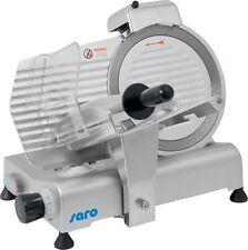 Elektrische Aufschnittmaschine Wurstschneidemaschine 250 mm Schrägschneider Saro