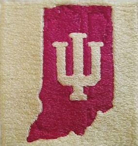 "Indiana University (IU) Embroidery Emblem Patch (4x4"") Large"