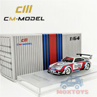 CM Model 1:64 Prosche RWB 993 Martini Racing #11 Diecast Model Car
