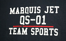 Rare Marquis Jet Partners Aviation QS-01 Team Sports New Unused Blue T-Shirt LG