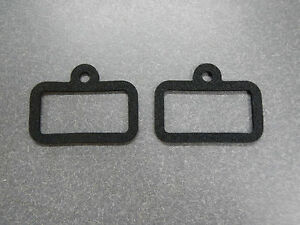 1966 Buick LeSabre Wildcat Back Up Light Lens Gasket Lamp Pair in Tail Light 66