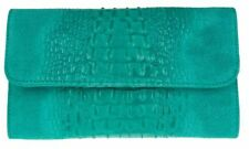 Unbranded Croc Print Magnetic Snap Handbags