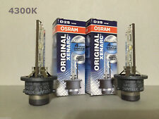 2PCS NEW OSRAM XENARC D2S 66240 66040 4300K OEM HID XENON LIGHT BULBS SET