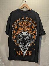 187 Inc Rare Mens T-Shirt Goons & Rachets MXIII Black XL Double Sided Tagless