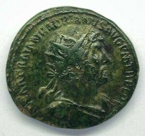 Lot 392: Hadrian (117-138). Æ Dupondius