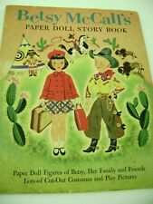 Vtg Paper Dolls 1954 Betsy Mccall Story Book Hilda Miloche Lots Uncut Rare!