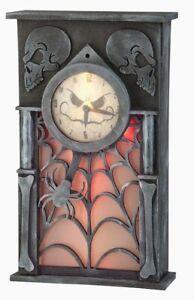 Holiday Living Lighted Animated Clock - Halloween Clock!