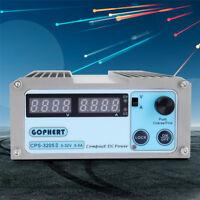 HighQ CPS-3205 110/220V Digital Display Mini Variable Adjustable DC Power Supply