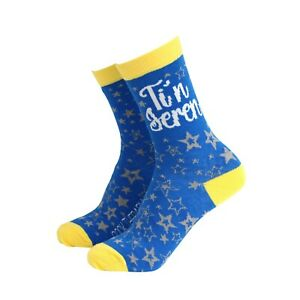 Womens Welsh Ti'n Seren Funny Novelty BAMBOO Gift Socks | Sock Therapy
