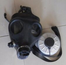 Israeli Gas mask ( adult size no.1) with drinking straw and filter