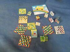 SYLVANIAN FAMILIES ACCESSORIES BOOKS BOARD GAMES MAPS FOR CARAVAN BOAT ETC