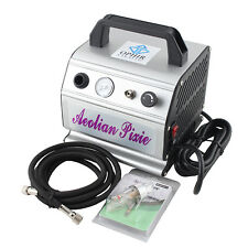 OPHIR Portable Mini Air Compressor 220V for Airbrushing Tattoo Nail Art Hobby