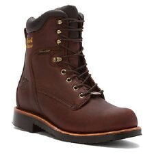 Chippewa Mens 8 Inch Rich Oiled Walnut Waterproof Lace-Up Rugged Boot 25255 14EE