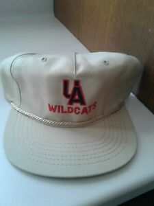 Vintage nos University of Arizona Wildcats Cats Snapback Hat baseball cap