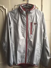 ONITSUKA TIGER MEXICO 66 Mens Silver Red Light Weight Jacket Size S