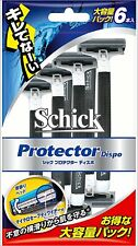 Schick Protector Dispo Disposable Razor 6pcs From Japan