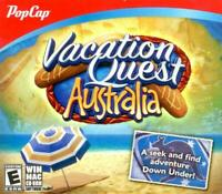 Vacation Quest Australia PC Games Windows 10 8 7 XP Computer hidden object NEW
