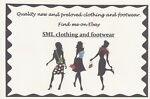 SML clothing and footwear