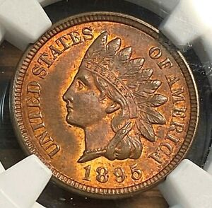 1895 NGC MS63RB Great for Grade Easily Best Price on Ebay CHN